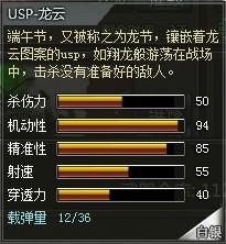 4399创世兵魂USP-龙云属性
