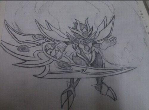 龙斗士繁花手绘《神羽月读》