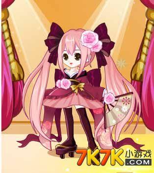 淘宝图片素材粉色系少女
