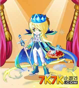7k7k小游戏 奥比岛 魔力时装  奥比岛 包含部件      水晶王子表情,水