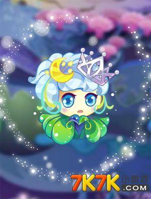 小花仙花精灵白色月灵灵