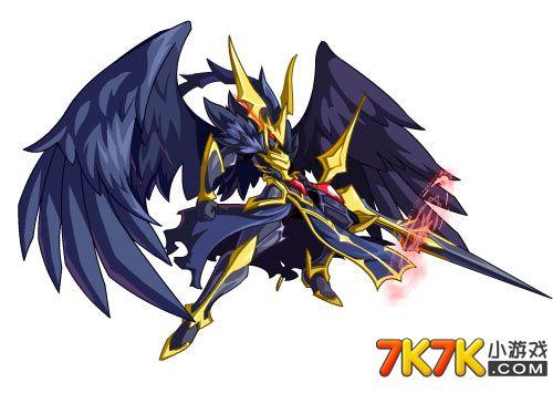 奥奇传说黑羽天使高清大图
