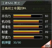 4399创世兵魂王者M4-黑龙属性 多少钱