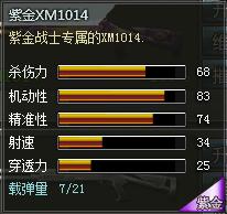 4399创世兵魂紫金XM1014属性 紫金XM1014多少钱