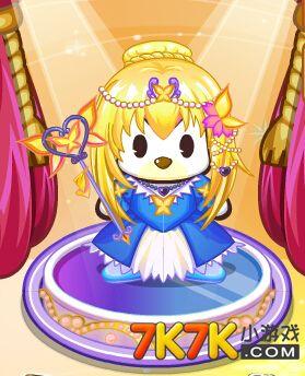 奥比岛 奥比服饰  包含部件       蝴蝶黄金发,蝴蝶宝珠头饰,蝴蝶宝珠