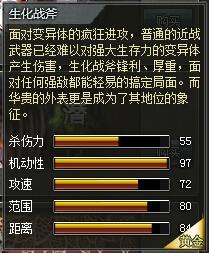 4399创世兵魂生化战斧属性 多少钱