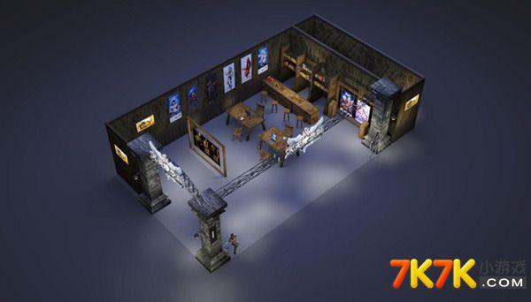 37《大天使之剑》在本届360游戏狂欢节的展位效果图