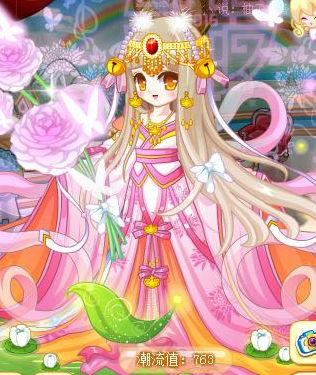 奥比岛筱汐搭配魔力时装古风篇