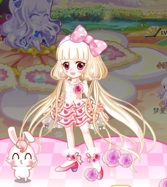 奥比岛公主奇缘搭配豌豆公主发型