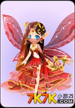 小花仙红花莲套装