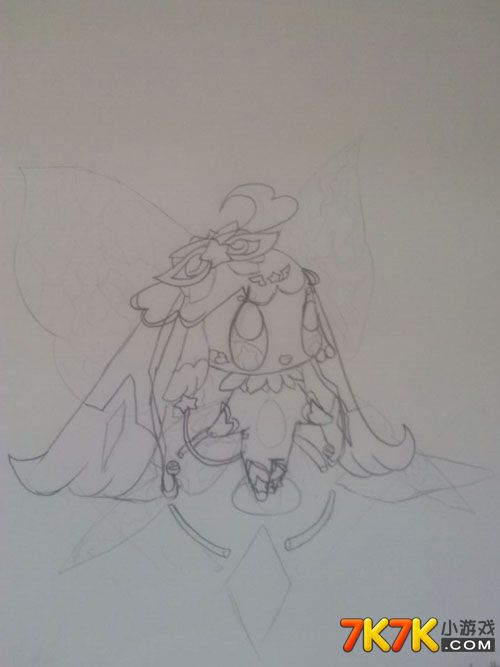 洛克王国手绘迪莫与洛克