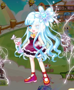 奥比岛茉雪搭魔力时装【日常版】