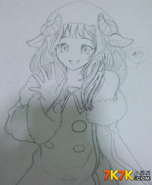 小花仙玩家手绘