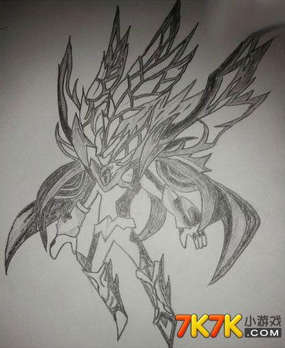 龙斗士手绘幻影神王