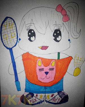 奥比岛夏日の女孩手绘合辑