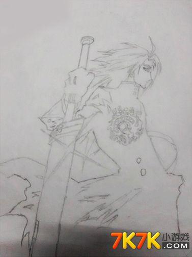 龙斗士手绘战士