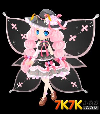 小花仙粉红女巫套装高清大图