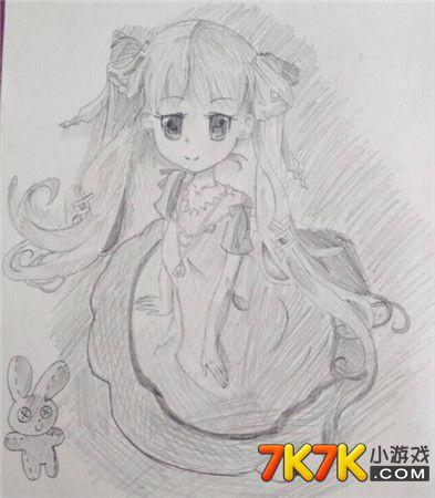 仙子简笔画 漂亮