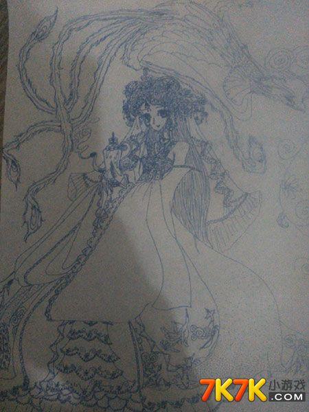 古装美女窦娥公主呢,喜欢手绘的还不赶快去看看吗?