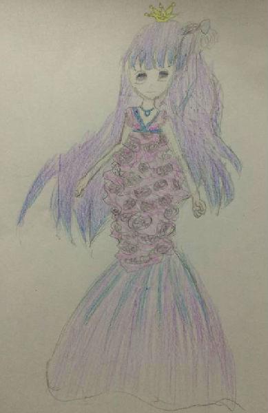 奥比岛手绘人鱼公主