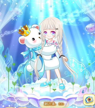 奥比岛小甜甜抱抱熊搭配