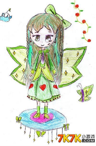 奥比岛服装设计手绘