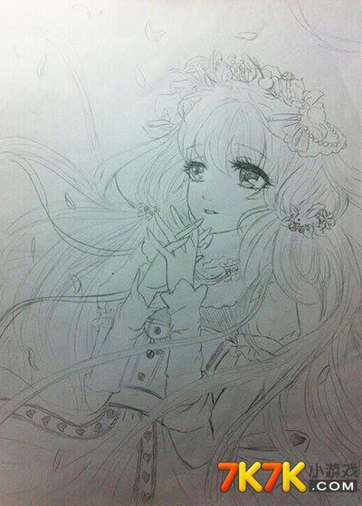 奥比岛王羽佳手绘