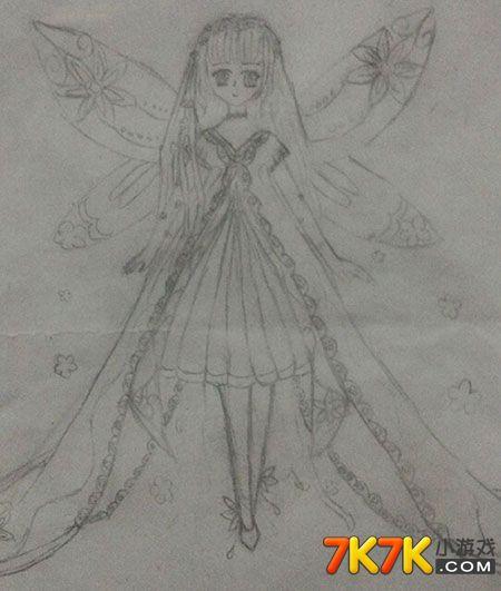 奥比岛手绘百花仙子绫媱