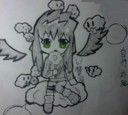 奥比岛手绘天使