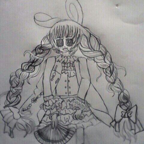 奥比岛手绘魔法使者
