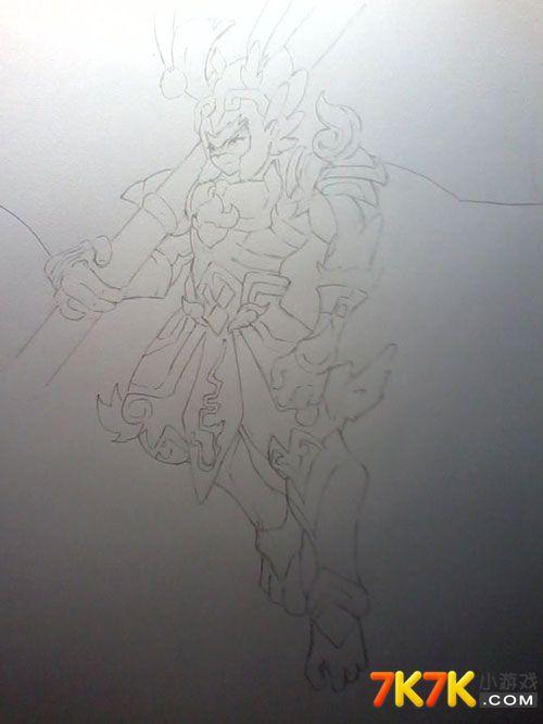 奥奇手绘斗战圣佛大图手绘