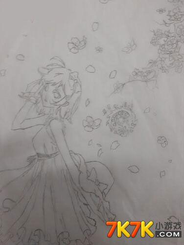 龙斗士手绘女神