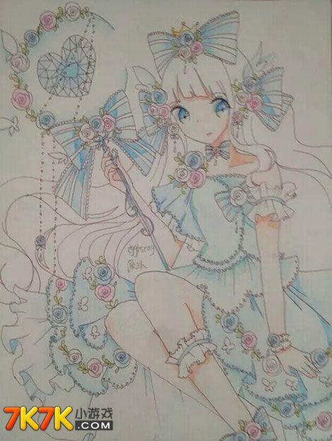 【手绘】手绘——爱丽儿公主