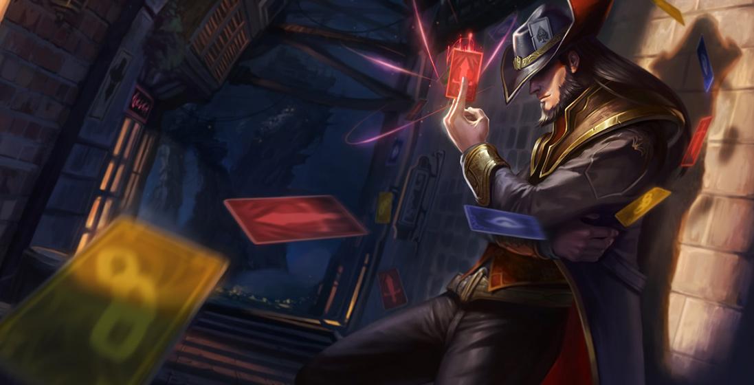 当你使用卡牌大师时 - 与你的友军合作,争取最佳时机使用命运来伏击敌人。 - 潜行角色通常会在生命值较低时逃离战斗。利用命运技能发现潜行目标,并将其消灭。 - 卡牌大师可以作为物理系或法系角色,他能够配合不同的队伍构成。