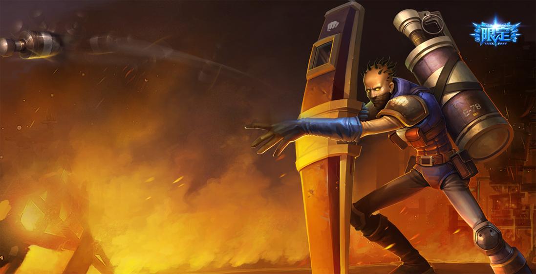 英雄 lol 炼金术士/炼金术士 辛吉德坦克战士上单英雄攻略英雄视频物理8 法术4...