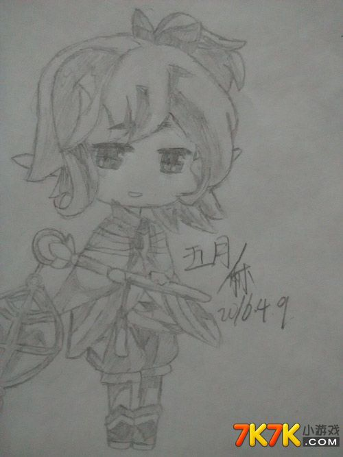 小花仙玩家手绘【as﹎君墨°】