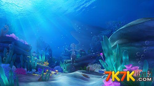 金蟾捕鱼神秘唯美游戏场景带你畅游海底