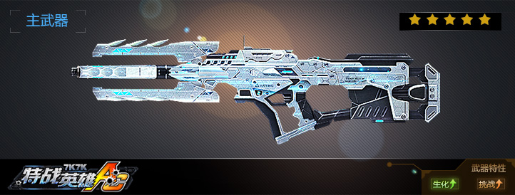 自由之翼-冲锋枪武器展示