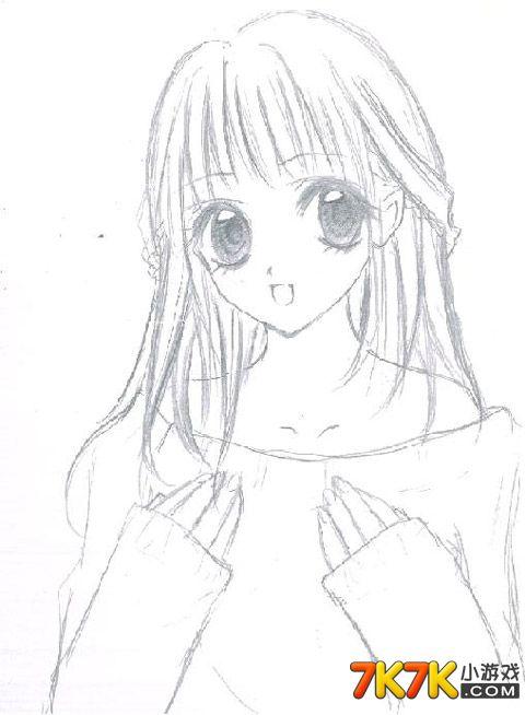 手绘是一个漂亮的女孩,感兴趣的小仙子们跟小编姐姐一起来看看吧!