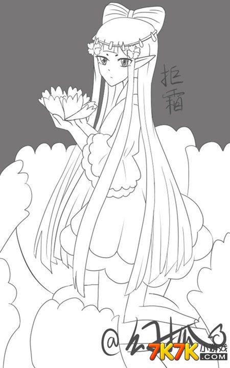 幻狐°】_小花仙手绘_7k7k小花仙