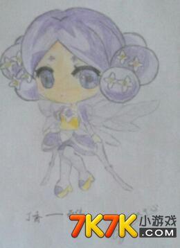 小花仙玩家手绘【墨香·馨儿】
