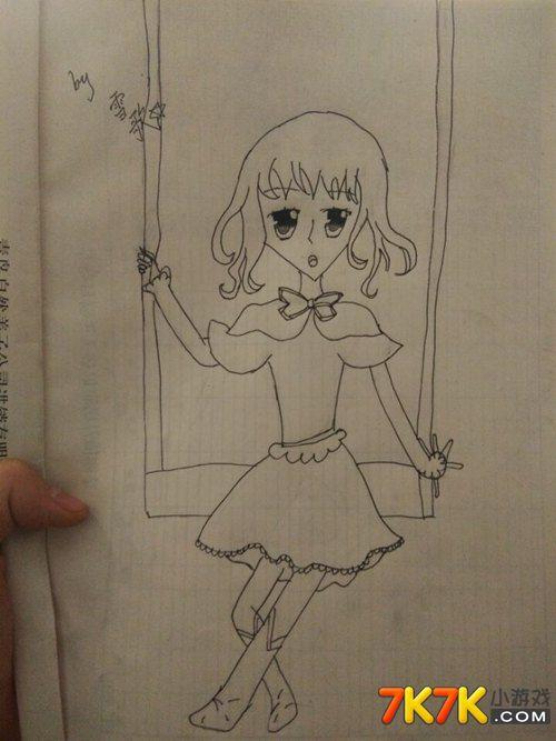 小花仙玩家手绘【雪歌】