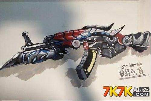 生死狙击忠实玩家手绘武器展示⑦