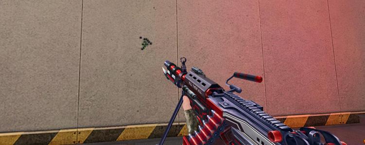 M249-血色契约弹道展示