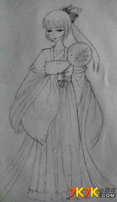 小花仙玩家手绘【瑾年】