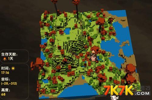 迷你世界红树林地图种子分享 漂亮的红树林地图