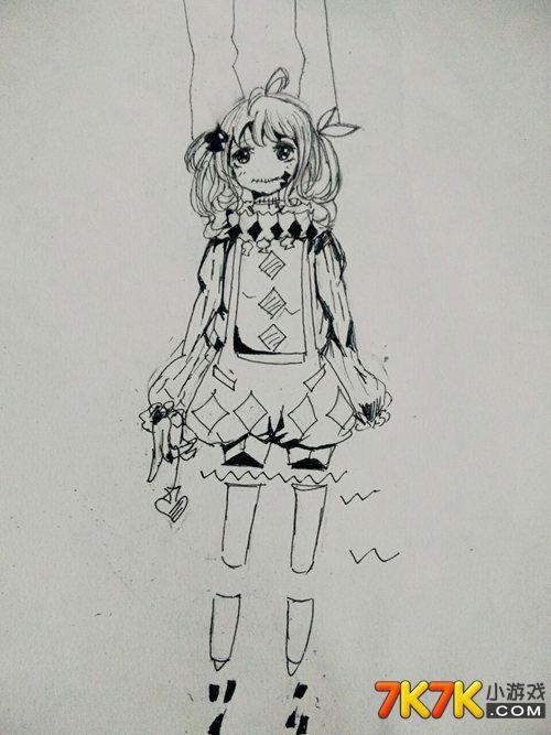 小花仙玩家手绘【小二黑】