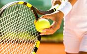 一起打网球啊