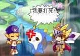 洛克王国四格漫画之迪莫生日