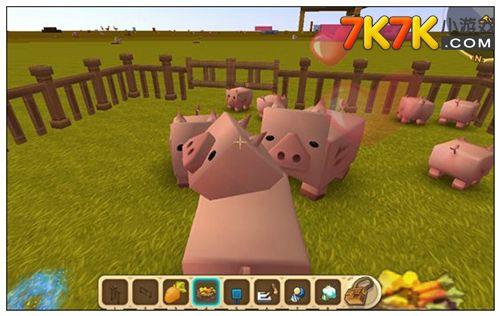 迷你世界驯服猪的方法 怎么驯服猪
